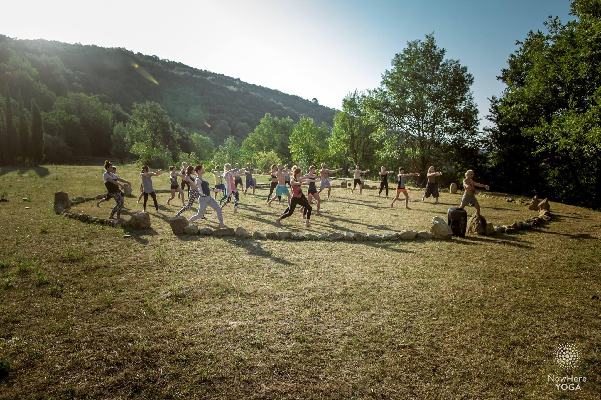 amara valley yoga stone circle